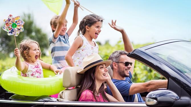 Mis au point sur les moyens de transport pour un voyage en famille